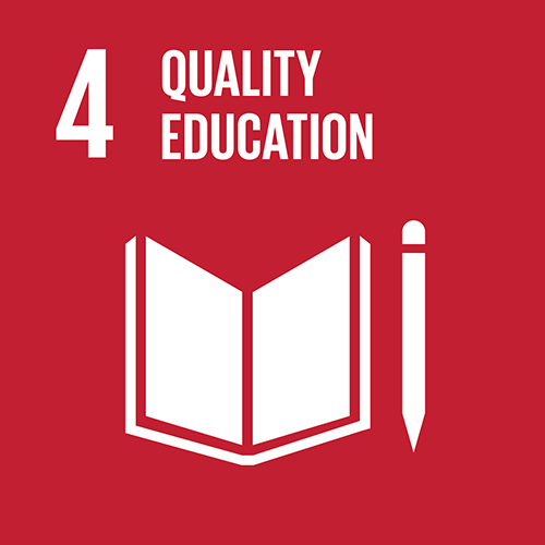 4. Ensure inclusive and quality education for all and promote lifelong learning
