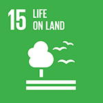 15. Sustainably manage forests, combat desertification, halt and reverse land degradation, halt biodiversity loss